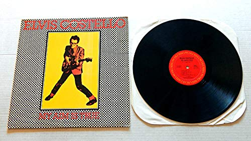 Price comparison product image Elvis Costello MY AIM IS TRUE (TWO2217) - Columbia Records 1977 - USED Vinyl LP Record - 1978 Repressing JC 35037 - Alison - Watching The Detectives - Miracle Man - The Angels Wanna Wear My Red Shoes