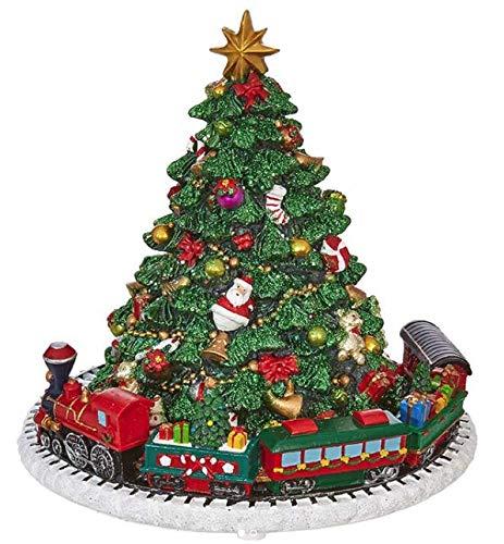 - RAZ Imports Animated Musical Christmas Tree Holiday Home Decoration