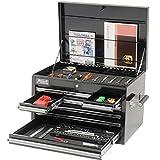 Homak  BK02027901 27-Inch 9 Drawer Extended Top Chest, Black