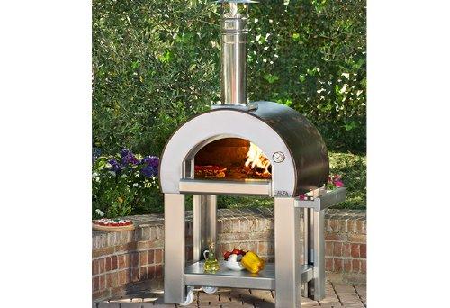 AlfaPizza Forno 5 Minuti - Horno de Pizza para Exteriores (Madera ...
