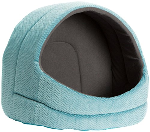 51xr8vCEepL - Best Friends by Sheri Pet Hut In Flair - Turquoise/Graphite