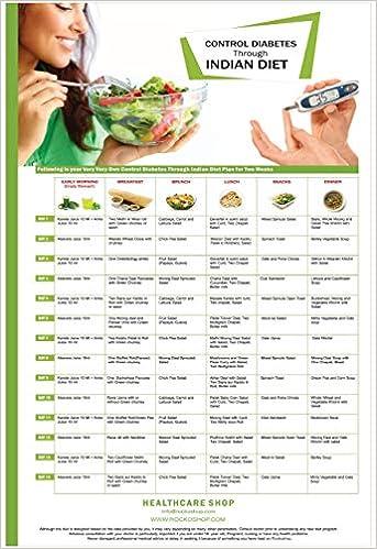 Buy Diabetic Diet Chart Control Diabetes With Healthy Diet Plan