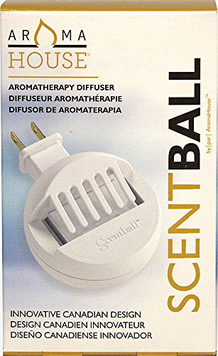 Hubmar Aromatherapy Plug In Diffuser-1 Each Earth Solutions Scentball Diffuser