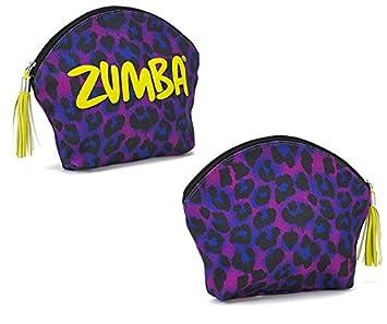 31dc5b62ff55 Zumba Fitness La Gozadera Make Up Bag Purple Power One Size  Amazon ...