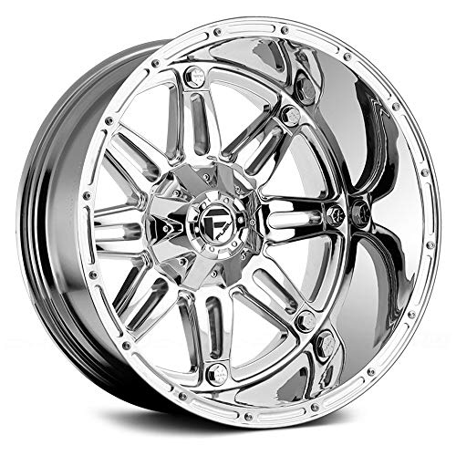 (Fuel D530 Сustom Wheel - Hostage Deep Lip Series Chrome 22