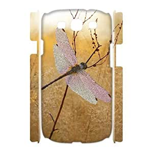 Dragonfly Customized 3D Cover Case for Samsung Galaxy S3 I9300,custom phone case ygtg630822