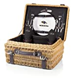 NFL Champion Picnic Basket with Deluxe Service for
