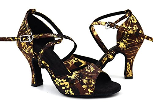 Black Zapatos 7 5cm con mujer TDA tacón nZUw4qqP