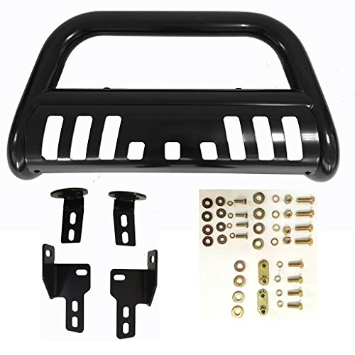 FI-Drive Black Front Bull Bar w/Skid Plate for 2004-2008 Ford F-150 Only