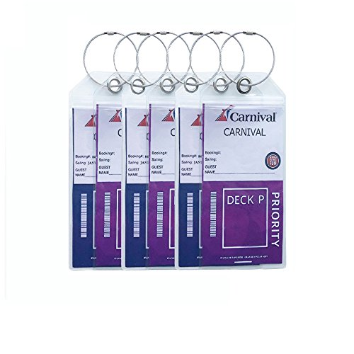 haoran-durable-thick-pvc-cruise-luggage-tag-holders-with-zip-seal-stainless-steel-loops6-pack