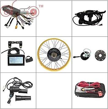 HYLH Kit Ebike 72V 1500W Kits de conversión de Bicicleta eléctrica ...