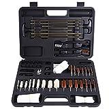Search : Gun Cleaning Kit Ohuhu Hand Gun, Rifle & Shot Gun Cleaning Kits Tool Set with Carrying Case, 58 pc