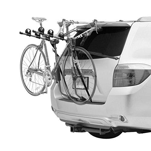 IKURAM 3 Bicycle Bike Car Rear Rack Carrier Trunk Mount Strap-On Foldable Steel by IKURAM