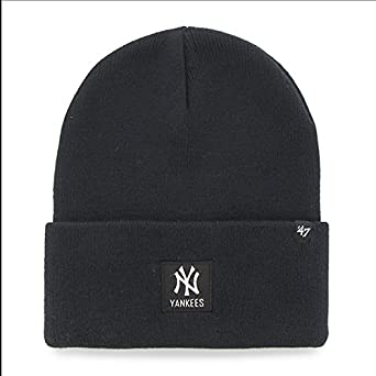 47 Unisex MLB New York Yankees Portbury Beanie Hat 47 Brand