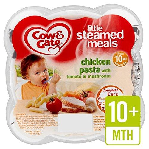 Cow & Gate Cremosa Pasta De Pollo Con Tomate Y Hongos 230G