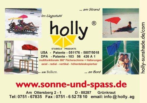Cargo Transporte Azul Holly Quitasoles 4 X Con Correa Bolsillos Alustuhl De verde Cwq8x6a