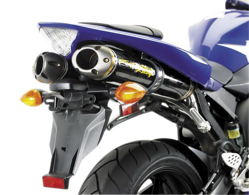 [Two Brothers Racing (005-1460408V) Standard Series M-2 Titanium Canister Slip-On Exhaust System] (M2 Titanium Canister)