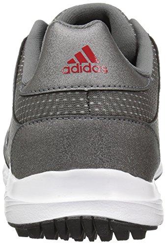adidas Men's Tech Response Golf Shoe, Iron Metallic/White, 8.5 W US by adidas (Image #2)