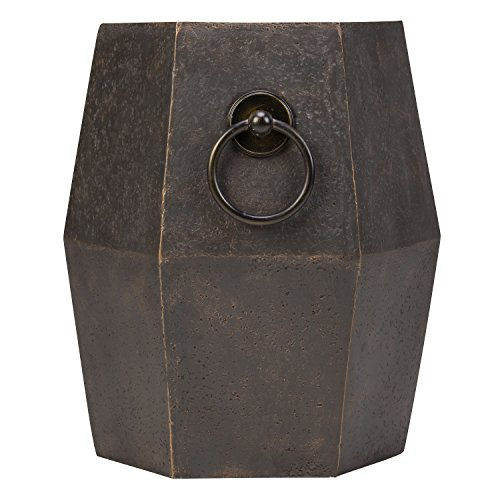 Bombay Company Delhi Drum Outdoor Side Table For Sale