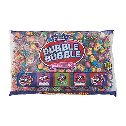 - Dubble Bubble Gum Candy Mix (2.4 lb)