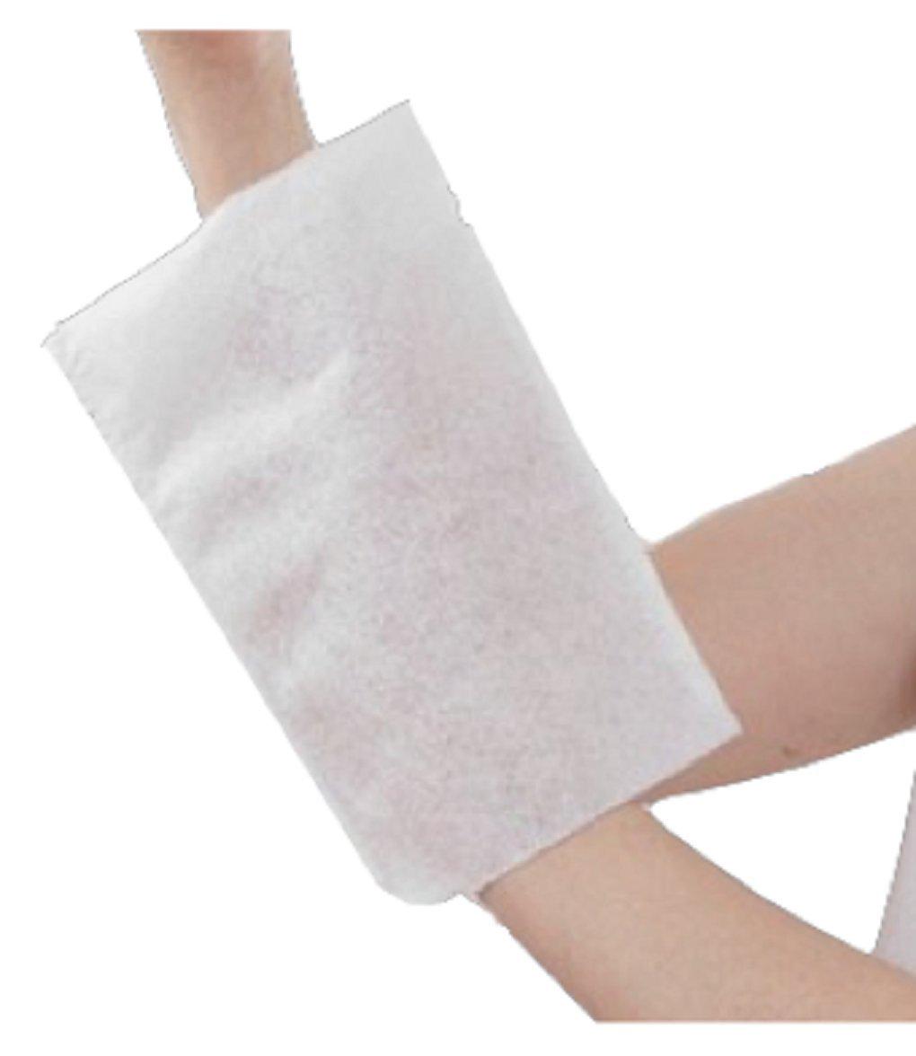 pre-insaponato non tessuto 75/g//m/² monouso agugliato secco Dimensioni: 230 x 156 mm // lotto di 3 confezioni da 50 dac Guanto da bagno pre-insaponato