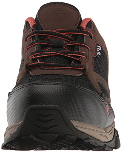 Men's Boot Hiker Rush Wolverine Brown ESD Black Work Comp Toe vdWHP