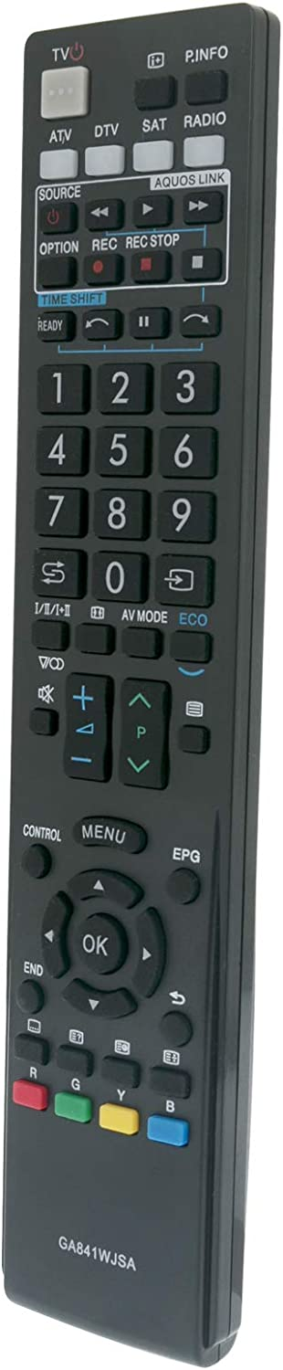 gaixample.org ALLIMITY GA841WJSA Remote Control Replacement for ...