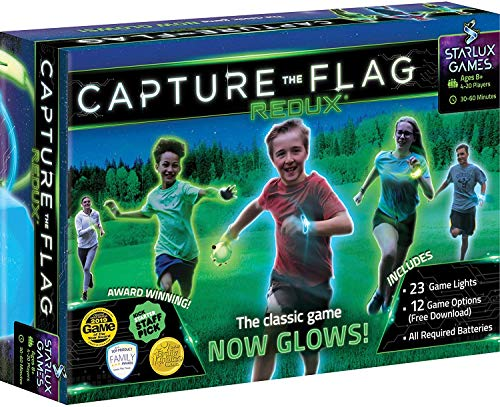Capture The Flag Redux: The Original Glow-in-The-Dark Outdoor Game for Birthday Parties, Youth Groups and Team Building…