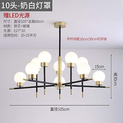 Dormitorio restaurante araña personalidad lámparas ...