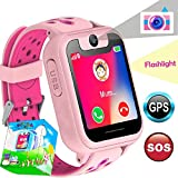 GPS Tracker Kids Smart Watch for Boys Girls Review and Comparison