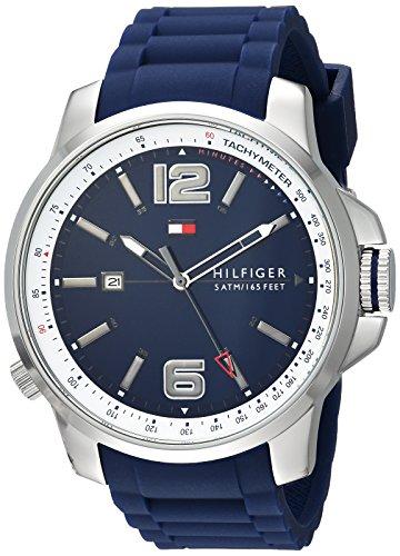 Tommy Hilfiger Men's 1791220 Cool Sport Analog Display Japanese Quartz Blue Watch