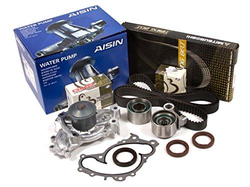 (Evergreen TBK257MWPA Fits 95-04 Toyota Avalon Solara Lexus 3.0L 1MZFE Timing Belt Kit AISIN Water Pump )