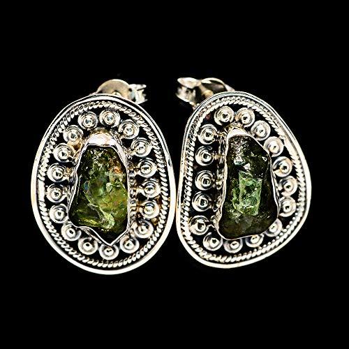 Ana Silver Co Green Tourmaline Earrings 1