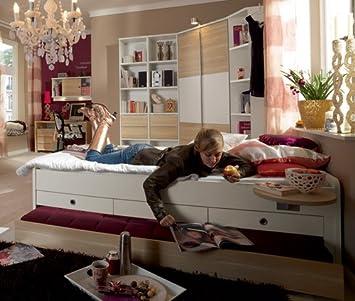 Welle Tamtam Jugendzimmer Komplett Weiß Rosales Individuell