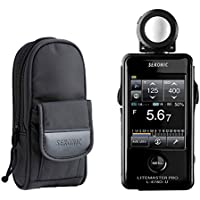 Sekonic LiteMaster Pro L-478D-U Light Meter With Exclusive 3-Year Warranty + Sekonic Deluxe Case for L-478-series meters
