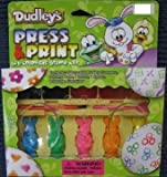 Press & Print Easter Egg Coloring Stamp Kit