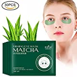 Cleansing Diet Before And After - 30 Pairs Green Tea Hydrating Moisturizing Dark Circles Fading Fine Lines Firming Eye Mask Patch