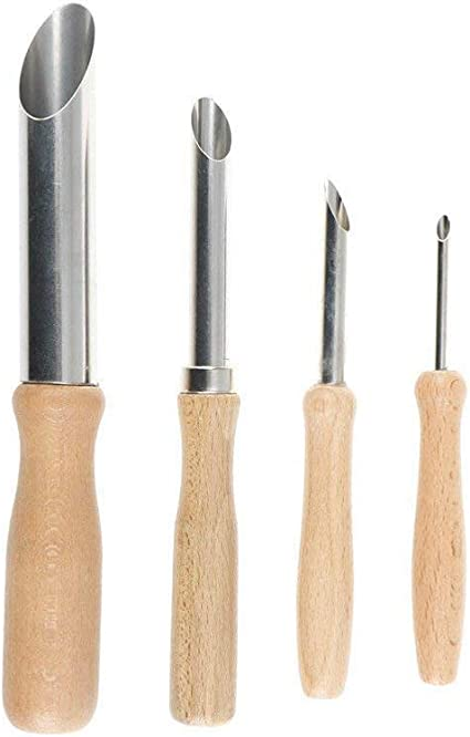 8Pcs Pottery Tools Clay Sculpture Hand Tools Stainless Steel Craft Trimming Ceramic Tools SODIAL 4Pcs Clay Hole Cutters Pottery Clay Ceramic Tools 12Pcs//Cutter+Trimming Tool