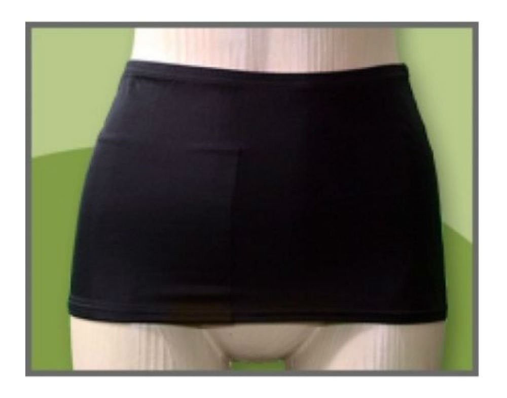 cfde9e7ef6 Amazon.com: Pouch Swim Wrap Swimming Suit Discrete No Bulge Spandex Stoma  Bag CHOOSE (Large): Kitchen & Dining