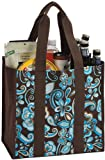 Coated Canvas Carry All Shopping, Travel Tote By Picnic Plus