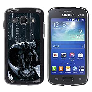 For Samsung Galaxy Ace 3 III / GT-S7270 / GT-S7275 / GT-S7272 , S-type® Pc Console Character Grey Black - Arte & diseño plástico duro Fundas Cover Cubre Hard Case Cover