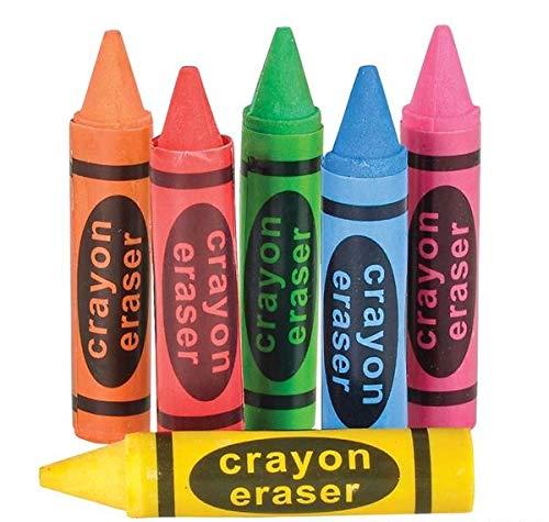 Neliblu Crayon Erasers Tub 36 Per Unit