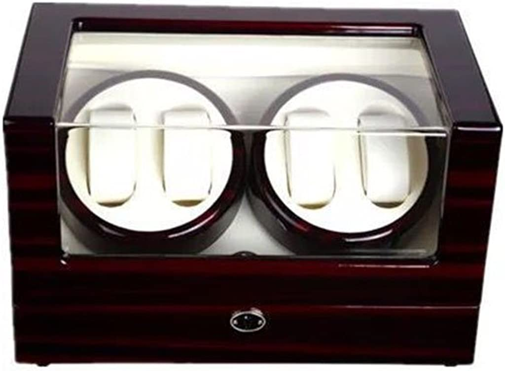 Scatole carica orologi Guarda Winder Boxes Ebony Automatic Watch meccanico Winder Electric Watch Rotation Winder A