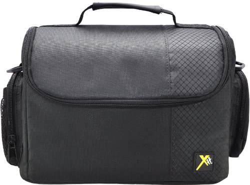 Xit XTCC3 Deluxe Digital Camera/Video Padded Carrying Case, Large - Bag Camera Video Large