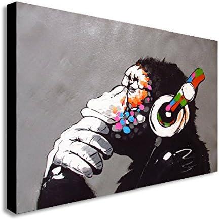 Banksy Canvas Monkey