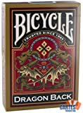 Jeu de 54 cartes : Bicycle Dragon
