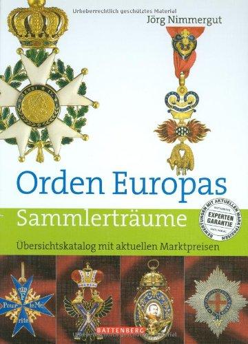Orden Europas: Übersichtskatalog mit aktuellen Marktpreisen