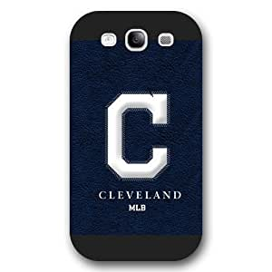 ArtPopTart Galaxy S3 Case,Fashion MLB Cleveland Indians Samsung Galaxy S3 Case [Black Frosted Hardshell],Coolest 2015 Cell Phone Case
