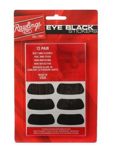 Rawlings Eye Black Adhesive Stickers ()
