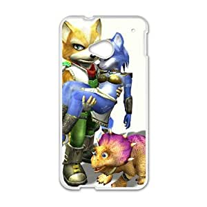 HTC One M7 Cell Phone Case White Super Smash Bros Fox McCloud 012 GY9096172